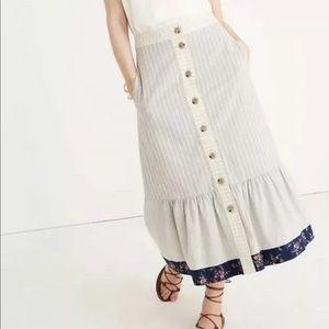 NWT madewell skirt Sz 10 - The Denim Project